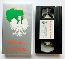WELCOME to POLAND (90s) VHS * Very RARE