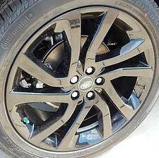 "Land Rover OEM Discovery Sport Evoque LR2 Aeroviper Black 18"" x 8"" Wheels & Lugs"