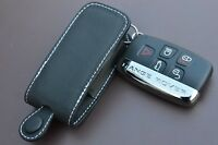 Range Rover Land Rover Evoque case in Black with White Stitching leather Case