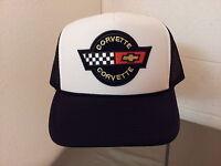 corvette racing mesh snapback baseball cap