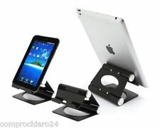 Supporto in Alluminio da Tavolo LUXURY per iPad, Tablet, SmartPhone