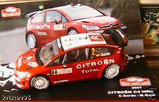 CITROEN C4 WRC RALLYE MONTE CARLO 2007 SORDO MARTI 1/43
