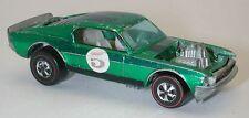 Redline Hotwheels Green OVER CHROME 1971 Boss Hoss oc8023