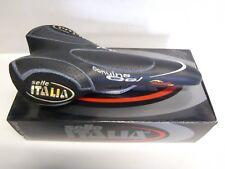 SELLA CICLO MTB SELLE ITALIA OKTAVIA GEL 200TELAIO MANGANESE 314g PELLE NERA