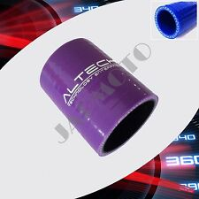 """Purple 3"""" to 3.0"""" inch Straight Silicone Coupler Hose ID:76mm TURBO/INTAKE PIPE"""