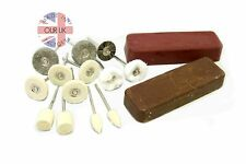 Jewellery Polishing Kit 56-Mounted Wheels And Bobs With Compound For Gold&Silver
