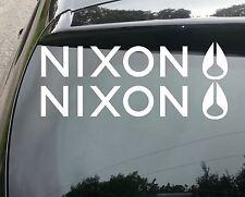 2x GRANDE Nixon Surf Divertente Auto/Finestra JDM VW Euro Adesivo decalcomania in vinile