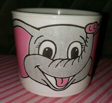 Vintage Whirley Industries with Pink and Gray Elephant Number 3