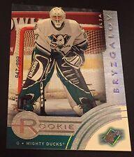 ILJA BRYZGALOV 2001-02 SPX Hockey ROOKIE Card #92 Ser #d /999 MIGHTY DUCKS