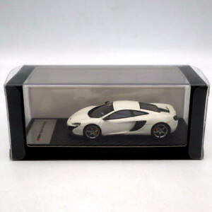TSM Models Mclaren 650S Coupe 2014 White Resin 1:43 Limited Edition Collection