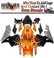 ABS Fairings For Honda CBR600RR F5 05 06 Bodywork Fairing Kit Orange Black Grey