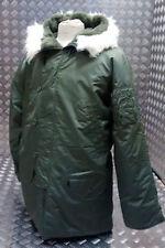 Cappotti e giacche da uomo verde in pelliccia
