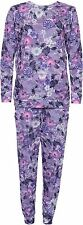 New Womens Plus Size Floral Track Top Bottom Holiday Tracksuit 12-24