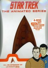 Star Trek: The Animated Series [4 Discs] DVD Region 1