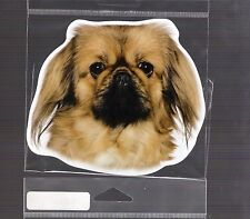 Pekingese 4 inch face magnet for car or anything metal New