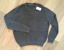 NWT $195 VINCE Knit Sweater Gray  XL HOT Gift! Free Shipping