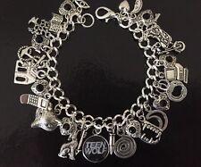 Teen Wolf Charm Bracelet, Fandom, Gift, Werewolf, Shape Shifter