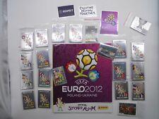 EM 2012/ Polen/Ukraine,kompletter Satz Nr.1-539 + Bild Nr. Pss + Album