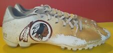 NFL Game Used Worn Custom Painted Washington Redskins Brian Quick Cleats  Rams