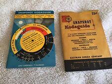 Kodak Snapshot/Outdoor Guides (2) & Westwood Neg-a-chart