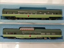 N scale Northern Pacific passenger cars