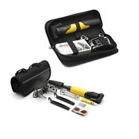 Bike Cycling Bicycle Repair Tools Kit Set Bag Tire Glue Patch Pump Emergency