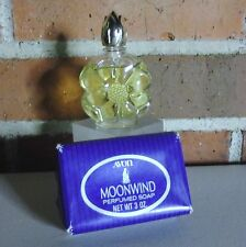 Vintage Avon Moonwind Cologne Splash & Bar Soap All New