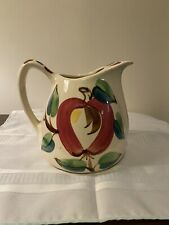 Puritan Pottery Apple Pattern - Large Pitcher and Tumbler