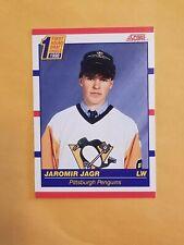 1990-91 Score #428 Jaromir Jagr Rookie Card