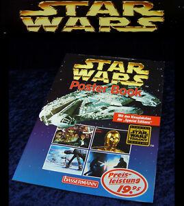 STAR WARS - POSTER BOOK inkl. aller Poster - Bassermann 1997 - Krieg der Sterne