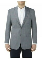 SKOPES Mens Hardwick Big Size Check Sports Jacket in Blue/Grey check