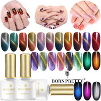BORN PRETTY 6ML UV Gel Nail Polish Magnetic Soak Off Base Top Coat Cat Eye Decor