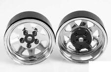 5 Lug Wagon Stamped beadlock Ruedas de Acero Escala 1.9 Pin cromo de montaje Z-W0001