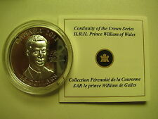 2011 Proof $15 Continuity Crown-Prince William Wales UHR Canada COIN&COA ONLY.92
