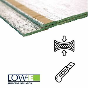 Low-E super thin reflective Insulation only 5.5mm thick easy to install