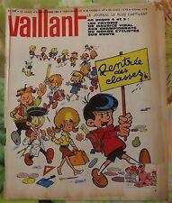 VAILLANT N°1008  6/09 1964 Placid & Muzo Rentrée des Classes