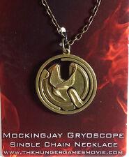 Hunger Games Mockingjay Gyroscope Necklace- Carded- FREE S&H (HGJW-57)