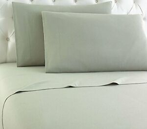 Thermee Micro Flannel Shavel Home Products Sheet Set California King Sage