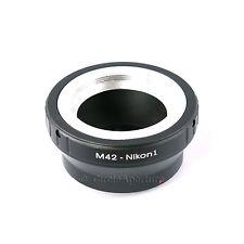 M42 Screw Mount Lens to NIKON 1 Mount Adapter Ring, N1 J1 J2 J3 V1 V2 S1 AW1
