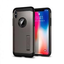 Fundas y carcasas Spigen color principal gris para teléfonos móviles y PDAs