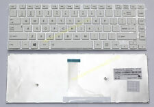 NEW US keyboard for Toshiba satellite L40-A L40D-A L40T-A L40DT-A white Frame