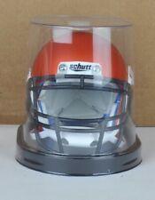 NCAA Miami Hurricanes Orange Chrome Schutt Authentic Mini Football Helmet