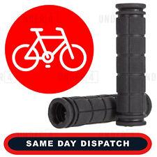 UK Soft Rubber Anti Skid Handle Bar Grips Bike Bicycle Cycle BMX MTB Black