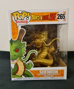 Funko Pop! Dragon Ball Z - Shenron Gold Figure 265 (25953) 6 inch Size