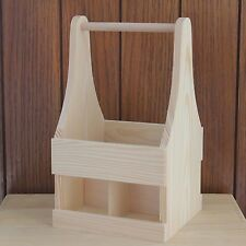 Beer bottle carrier. Wooden beer holder. Beer trug. Beer Caddy. Beer crate PO252