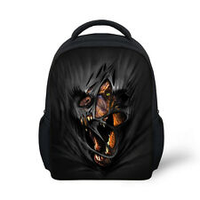 Child Kids kindergarten Shoulder Satchel Bag Black Dinosaur Schoolbag Rucksack