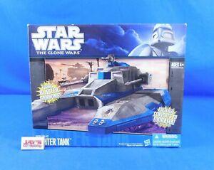 Republic Fighter Tank Vehicle Star Wars Clone Wars 2009 Hasbro Factory Sealed