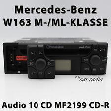Original Mercedes Audio 10 CD MF2199 CD-R Autoradio W163 Radio ML-Klasse RDS D2B