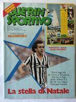 GUERIN SPORTIVO 51-52/1983 + POSTER VARESE CALCIOMONDO FILM CAMPIONATO PLATINI