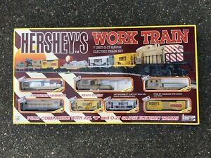 Hershey's Work Train K Line K1517  7 Unit 0-27 Gauge Electric Train Set 1995